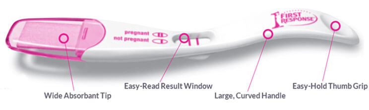 Key Features Early Result Pregnancy Test