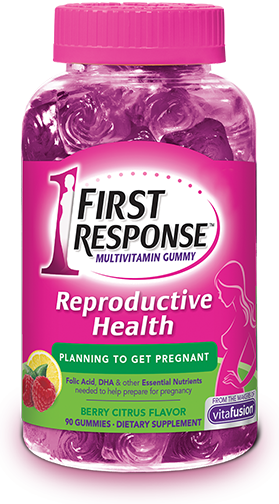 FIRST RESPONSE Reproductive Health Multivitamin Gummies