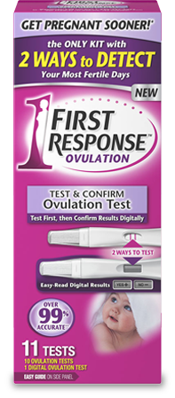 FIRST RESPONSE Test & Confirm Ovulation Test Kit