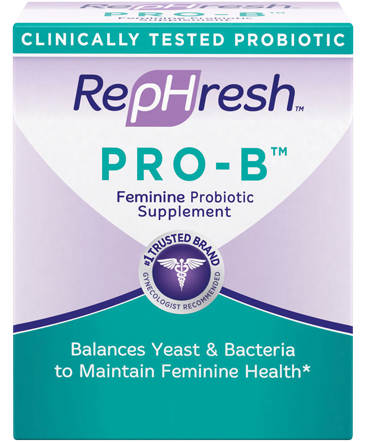 RepHresh Pro-B Feminine Probiotic Supplement