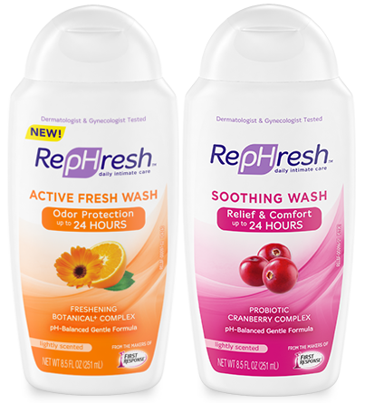 NEW RepHresh Washes
